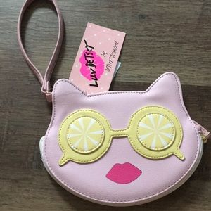 Brand new Luv Betsey's coin purse ( Pink Cat )